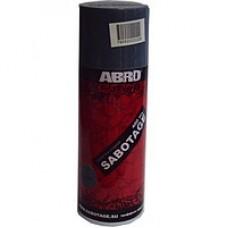 Краска спрей ABRO-RUS № 039 Черная глянцевая