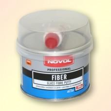 Шпатлевка Novol FIBER 0,2 кг со стекловолокном