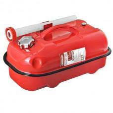 Канистра 20л металл.красная с заливным устройством